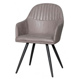 Кресло Тедди серое Prestol