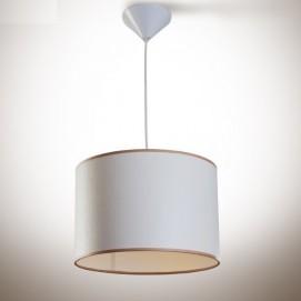 Лампа подвесная Цилиндр 300х200 белая 13910 N&B LIGHT 2018