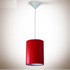 Лампа подвесная Цилиндр 170х230 красная 13910 N&B LIGHT 2018