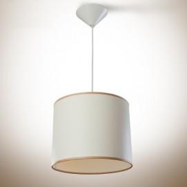 Лампа подвесная Цилиндр 250х200 белая крем 13910 N&B LIGHT 2018