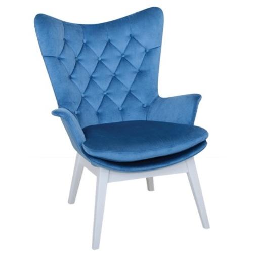 Кресло MARS / MRS01 голубое Caris