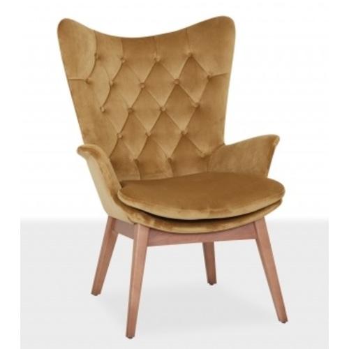 Кресло MARS / MRS01 золото Caris