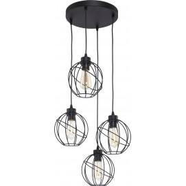 Люстра 1628 ORBITA черная TK Lighting
