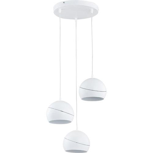 Люстра 2074 YODA WHITE ORBIT белая TK Lighting