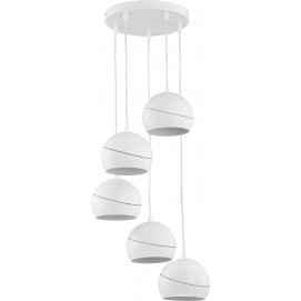 Люстра 2075 YODA WHITE ORBIT белая TK Lighting