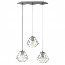Подвес 2003 Diamond Gray серый TK Lighting