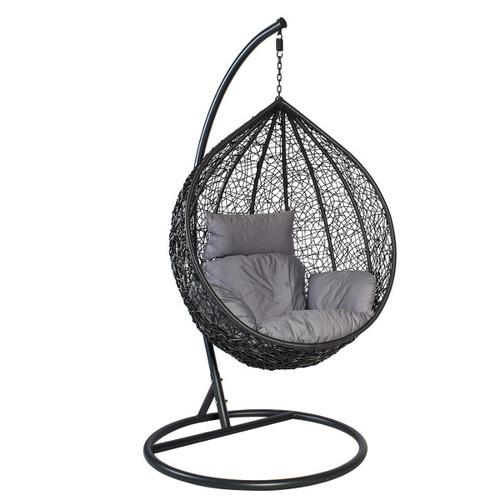 Кресло подвесное DROPLET 28018 темно-серое Garden4You