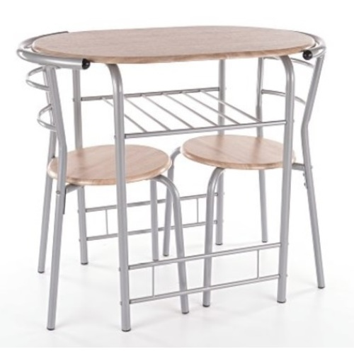 Комплект Gabo стол+2 стула натуральный Signal 2018