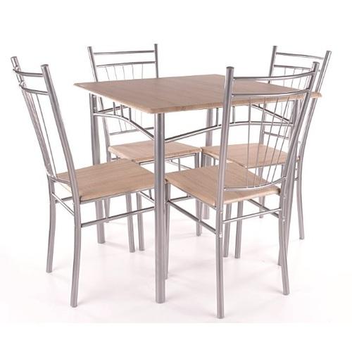 Комплект Fit стол+4 стула натуральный Signal 2018