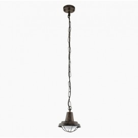 Лампа подвесная COLINDRES 94837 медь Eglo