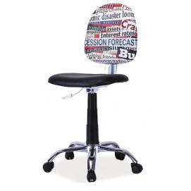 Стул офисный Grafi 1 черный Signal 2018