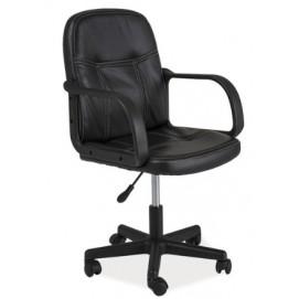Кресло офисное Q-074 черное Signal 2018