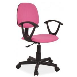 Кресло офисное Q-149 розовое Signal 2018