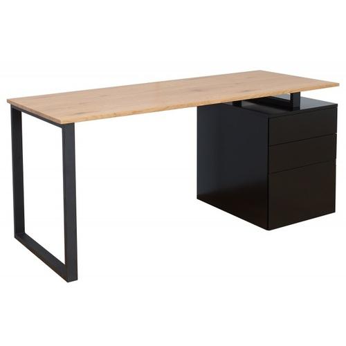 Стол письменный Black Desk 160 см 38426 натуральный Invicta 2018