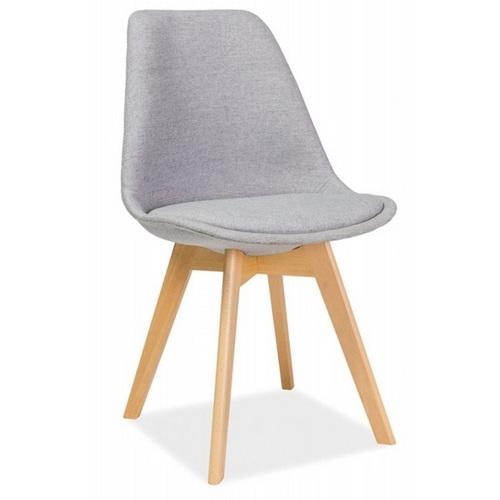Сидение от стула Dior buk серый Signal