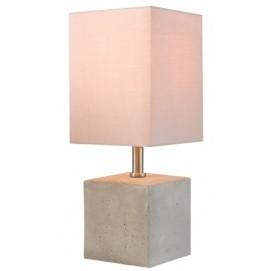 Лампа настольная Cement Collection 35cm 38407 серая Invicta 2018