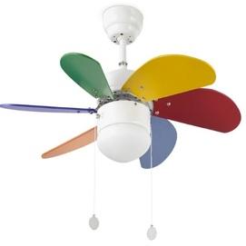 Светильник вентилятор PALAO FARO 33179 цветной