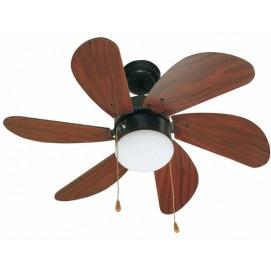 Светильник вентилятор PALAO FARO 33185 коричневый