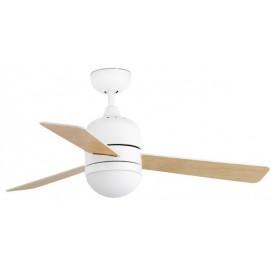 Светильник вентилятор CEBU FARO 33606 белый с натуральным