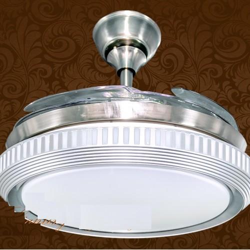 Складной вентилятор 036 белый ALG