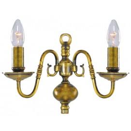 Бра 1019-2AB антик золото Searchlightelectric