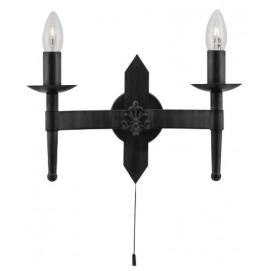 Бра 2422-2BK черное Searchlightelectric