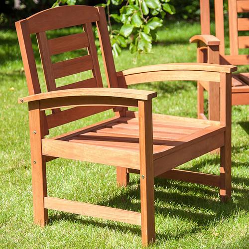 Кресло Woody 13293 натуральное Garden4You