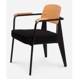 Кресло Fauteuil черное iCOO