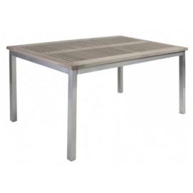 Стол обеденный Sterling (27658) серебро Evelek
