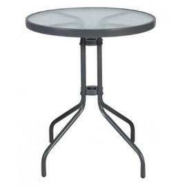 Стол обеденный Bistro (20561) прозрачный Evelek