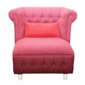 Кресло Мартин розовое DaVanti