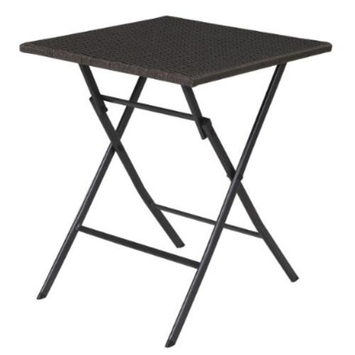 Стол складной Nico 20572 тёмно-серый Garden4You