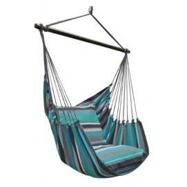 Подвесное кресло Eleganza (20622) зеленое Evelek
