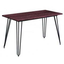 Стол обеденный Smith 120 черный 521107 Famm