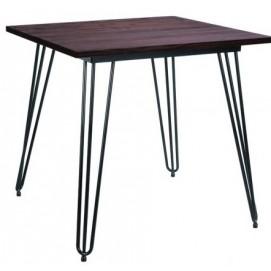 Стол обеденный Smith 80 черный 521108 Famm