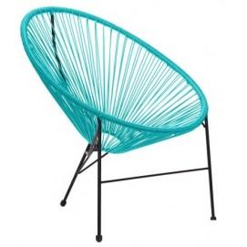 Кресло Acapulco голубое 519711 Famm