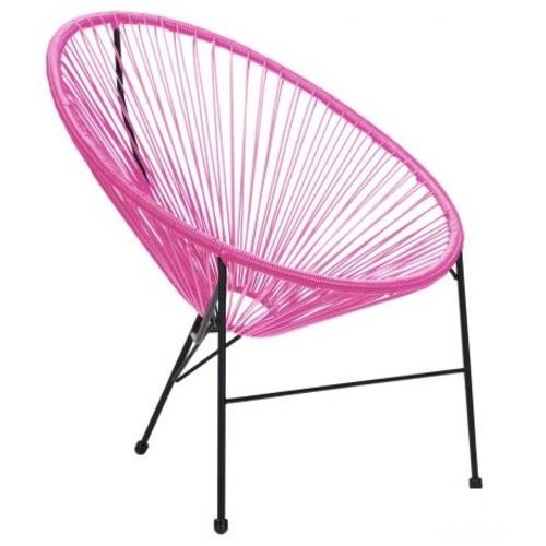 Кресло Acapulco розовое 519710 Famm