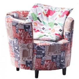 Кресло Латте цветное DaVanti