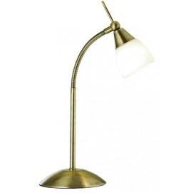 Лампа настольная 9961AB патина Searchlightelectric