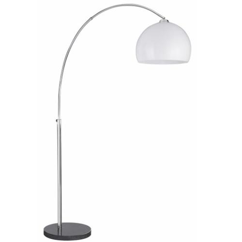 Лампа напольная 1037CC белая Searchlightelectric
