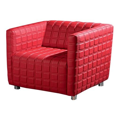 Кресло Диско красное DaVanti