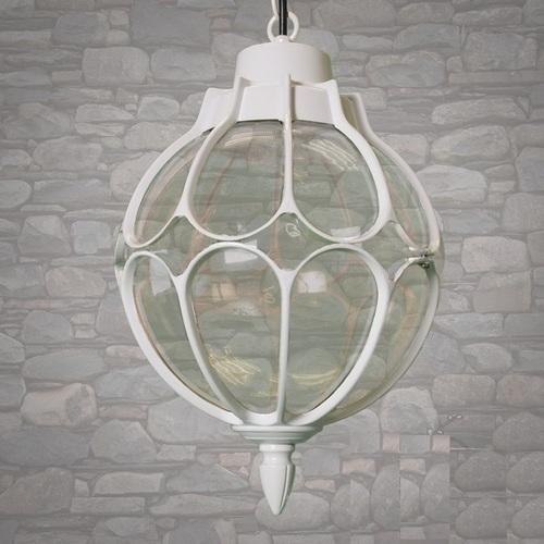 Лампа подвесная DJ118-M-H WH белая Diasha