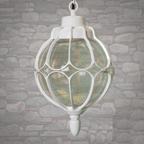 Лампа подвесная DJ118-S-H WH белая Diasha