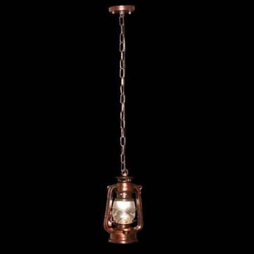Лампа подвесная V-L2108/1RAB коричневая Diasha
