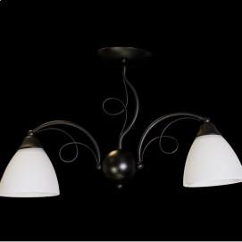 Люстра 50567/2 черно-белая Diasha