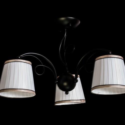 Люстра 50712/3 черно-белая Diasha
