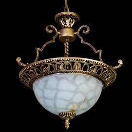 Лампа подвесная H27 белая Diasha