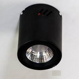 Накладной светодиодный точечный светильник 10W DB-SR108-COB-10W-B черный Diasha