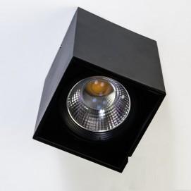 Накладной светодиодный точечный светильник 15W DB-SS135-COB-15W-B черный Diasha