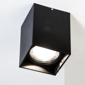 Накладной светодиодный точечный светильник 20W DB-SS165-COB-20W-B черный Diasha